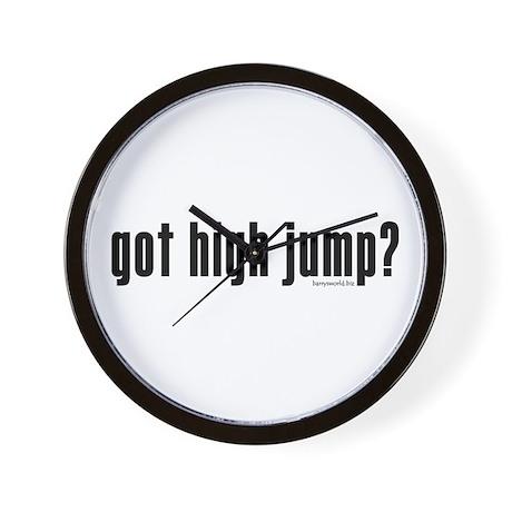 got high jump? Wall Clock