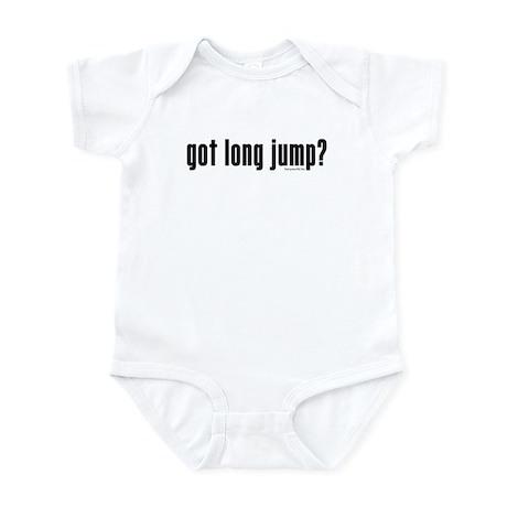 got long jump? Infant Bodysuit