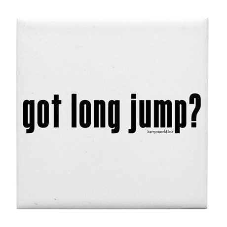 got long jump? Tile Coaster
