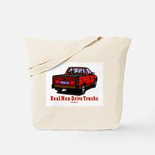 Real Men Drive Trucks Tote Bag