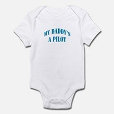 Daddy's a Pilot - Boy Infant Bodysuit