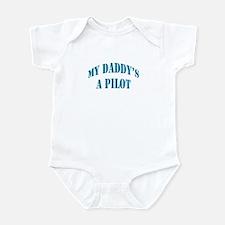 Daddy's a Pilot - Boy Onesie