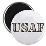 "USAF Electric Purple 2.25"" Magnet (100 pack)"