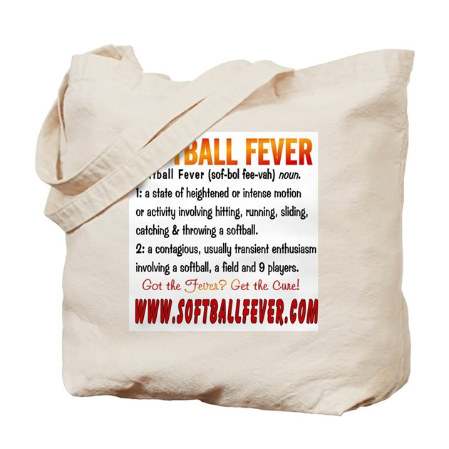 meaning of softball fever tote bag by softballfever