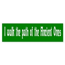 """Ancient Ones"" Bumper Bumper Sticker"