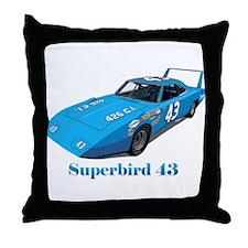 Cute Superbird Throw Pillow