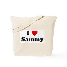 I Love Sammy Tote Bag