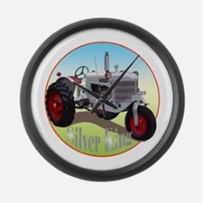 The Heartland Classic Silver Large Wall Clock