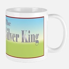 Cute Silver king tractor Mug