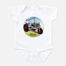 The Plymouth, Ohio Infant Bodysuit