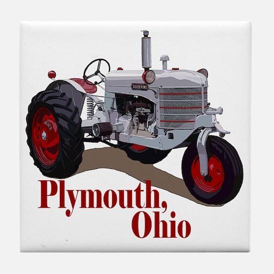 Funny Vintage farm Tile Coaster