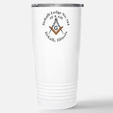 Masonic Lodge Travel Mug