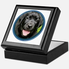 Black Lab Puppy Keepsake Box