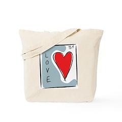 Valentine Love Tote Bag