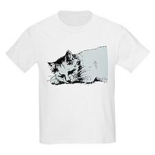 Cat Nap Kids T-Shirt