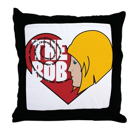 The Bob Throw Pillow