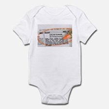 Wanted: Organ Donors Infant Bodysuit