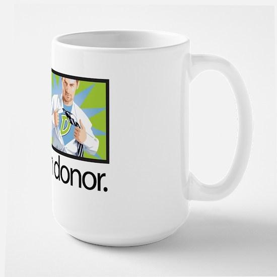 I Am a Superhero Large Mug