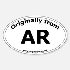 AR Oval Decal