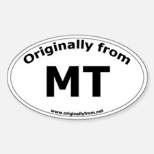 MT Oval Decal
