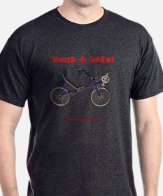 'Bent 4 Life on dark T-shirt - Highroller SWB