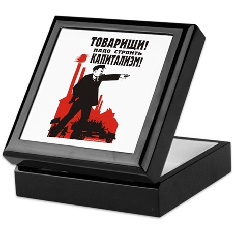 Capitalism Keepsake Box