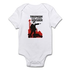 Capitalism Infant Bodysuit