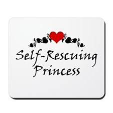 Self-Rescuing Princess Mousepad