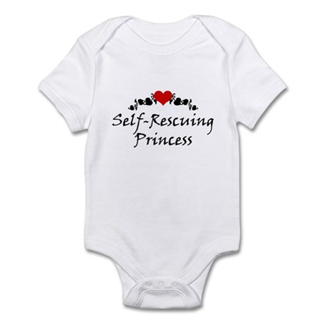 Self-Rescuing Princess Infant Bodysuit