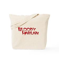 Bloody Harlan Tote Bag