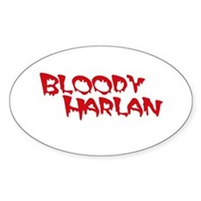 Bloody Harlan Decal