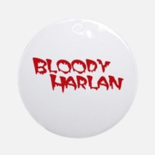 Bloody Harlan Ornament (Round)