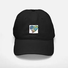 Meu Coracao Baseball Hat