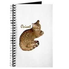 Cute Ocicat Journal