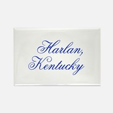 Harlan Kentucky Rectangle Magnet