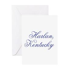 Harlan Kentucky Greeting Card