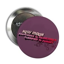 """Ornamental New Moon 2.25"""" Button (100 pack)"""
