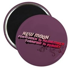 Ornamental New Moon Magnet