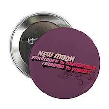 "Ornamental New Moon 2.25"" Button"