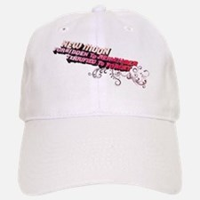Ornamental New Moon Baseball Baseball Cap