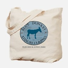 Blue Donkey Manure Company Tote Bag