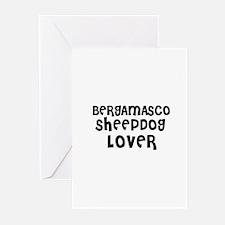 BERGAMASCO SHEEPDOG LOVER Greeting Cards (Package