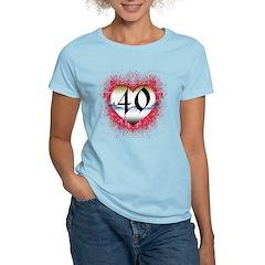 Gothic Heart 40th T-Shirt