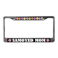 Samoyed Mom License Frame Gift