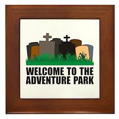 Adventure Park Framed Tile