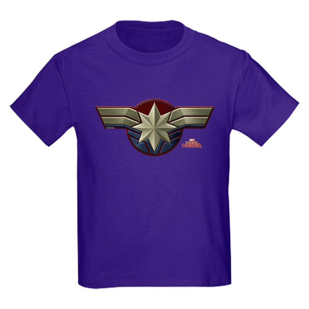 CafePress Captain Marvel T Shirt Kids Cotton T-shirt 403116613