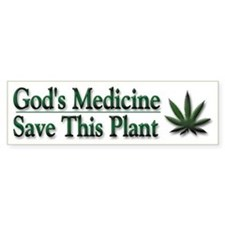 Save This Plant - Bumper Sticker