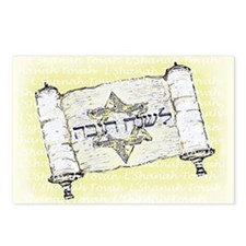 L'Shanah Tovah Postcards (Package of 8)