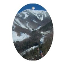 Whiteface Mountain Ornament (Oval)
