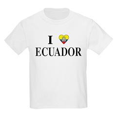 I Heart Ecuador Kids T-Shirt